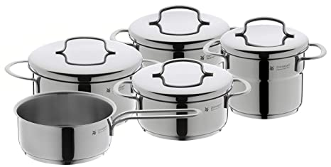 Amazon.com: WMF 5 Piezas Mini Batería de Cocina: Kitchen ...
