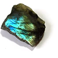 Reiki Healing Energy Charged Raw Labradorite Crystal Slice (Beautifully Gift Wrapped)