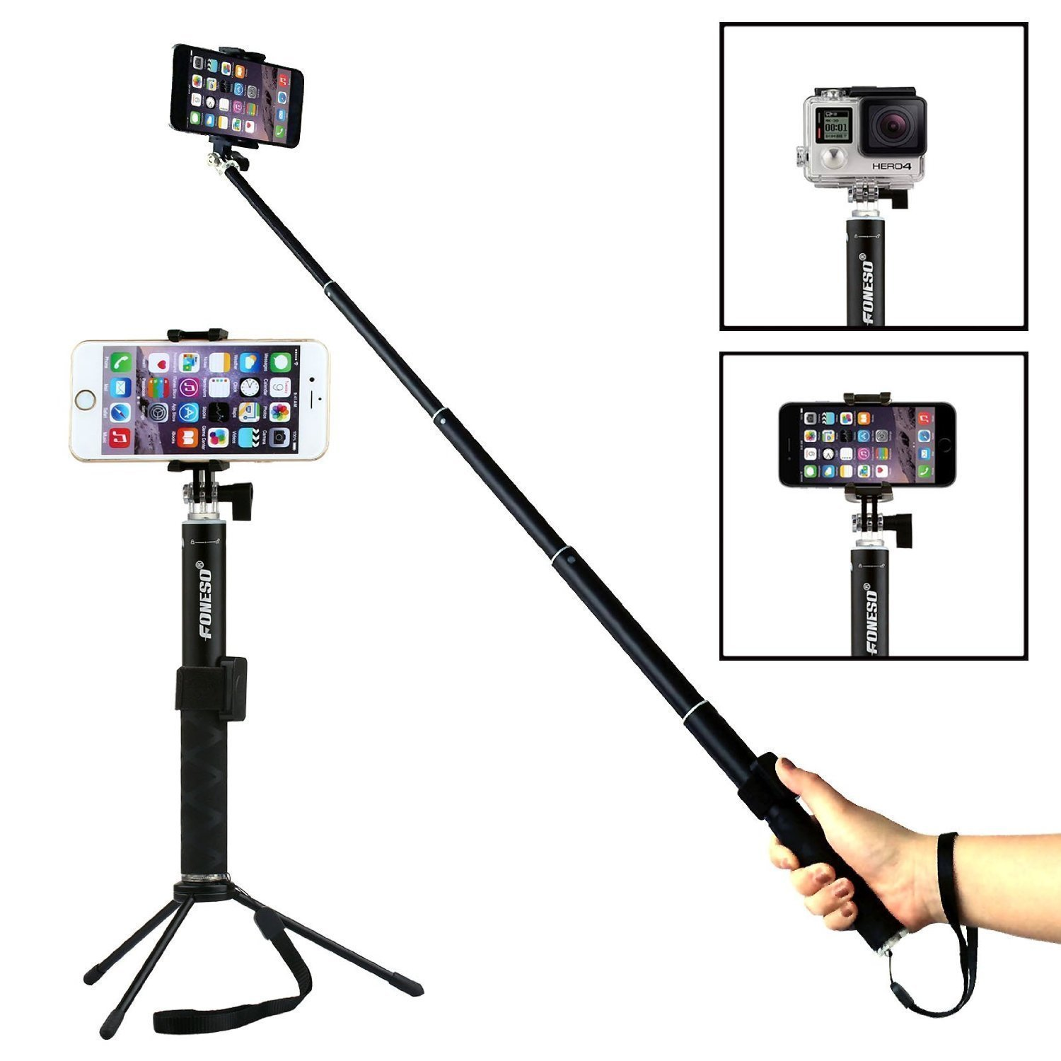 Foneso Selfie Stick amazon