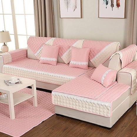 YHEGV Funda de sofá seccional, tapicería de algodón Cojín ...