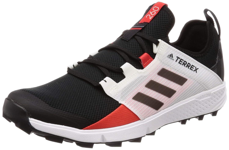 Adidas Herren Terrex Agravic Speed + Walkingschuhe Schwarz Core schwarz Active rot, 44 2 3 EU
