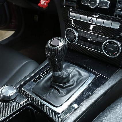 f/ür Benz C-Klasse W204 E W212 GLK X204 CLS W218 A G Klasse DIYUCAR Auto-Aufkleber aus Kohlefaser ABS
