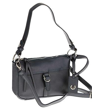 Bag Tasche Schultertasche Umhängetasche Henkeltasche Handbag (TORTORA/hellbraun) Valleverde MpLorags