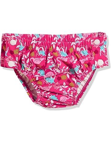 6a66fb5e1b134 Playshoes UV-Schutz Windelhose Flamingo Zum Knã£â¶pfen, Couche Culotte De