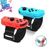 Just Dance 2020 Wrist Band, Dance Band Wrist band for Nintendo Switch, Adjustable Hook Loop Elastic Strap for Joy Cons Controller, 2 Pack