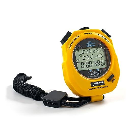 84 opinioni per FINIS 3X300M Stopwatch, Cronometro digitale multifunzione, Giallo