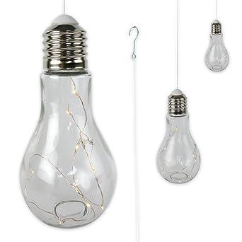 3 X Gluhbirne Lampe Leuchte Gartenlampe Gartendeko Mit Led