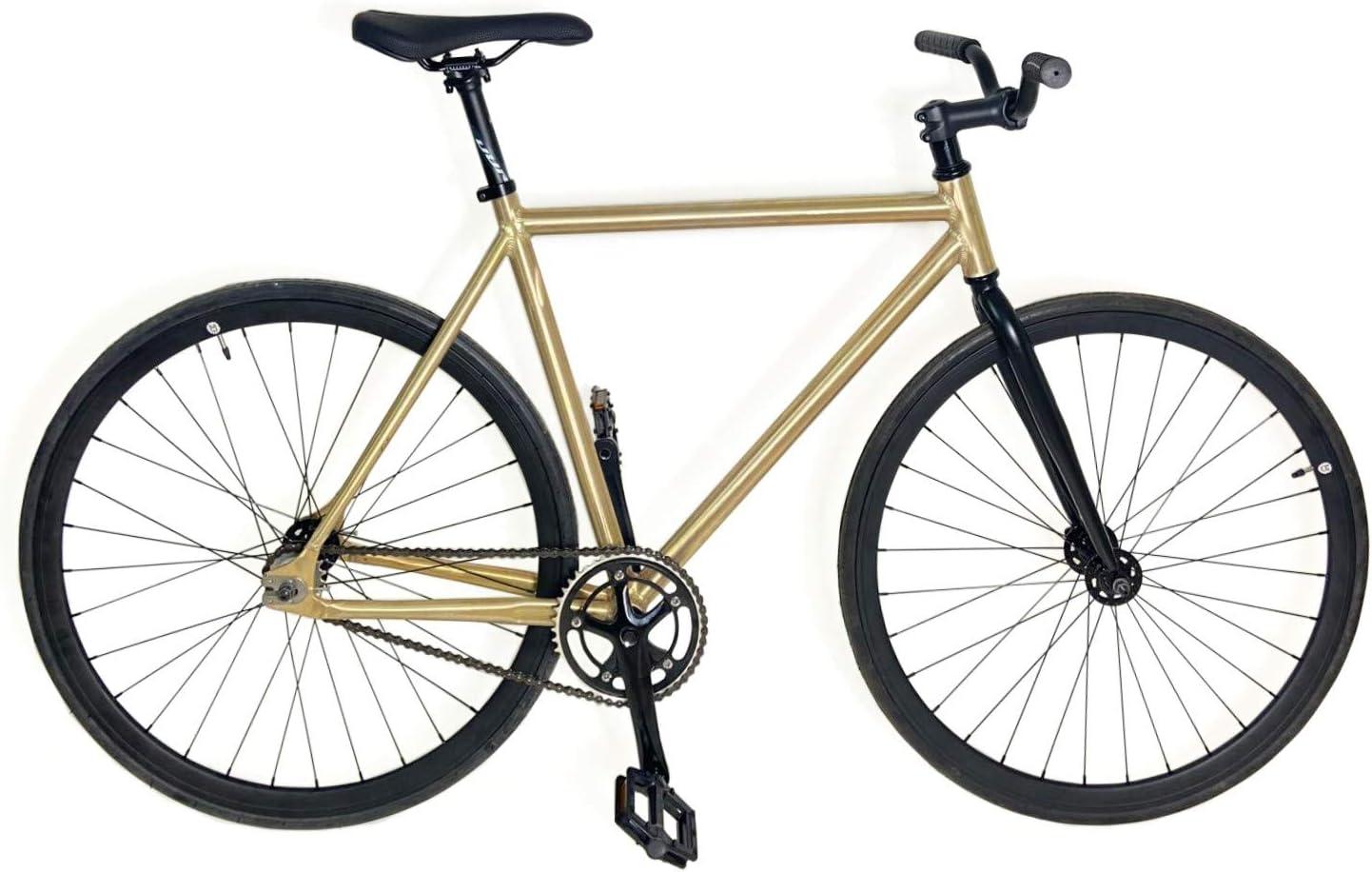 Mowheel Bicicleta Fixie Aluminio monomorcha Talla 54cm: Amazon.es ...