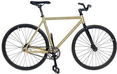 Mowheel Bicicleta Fixie Aluminio monomorcha Talla 54cm: Amazon ...