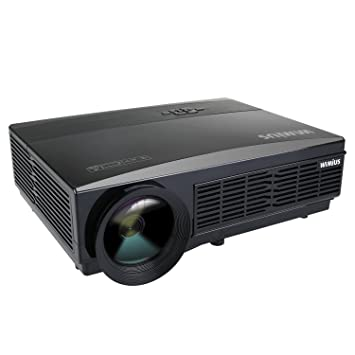 Proyector Portátil, Proyector HD LED Soporte Video 1080P Proyector ...