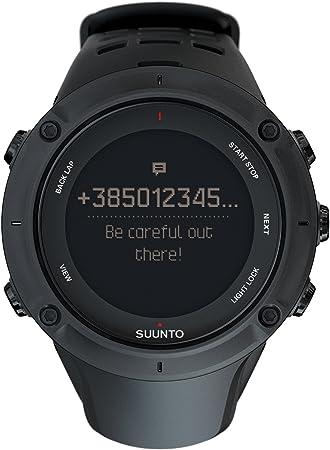 Suunto - Ambit3 Peak Black - Reloj con GPS Integrado, Unisex ...