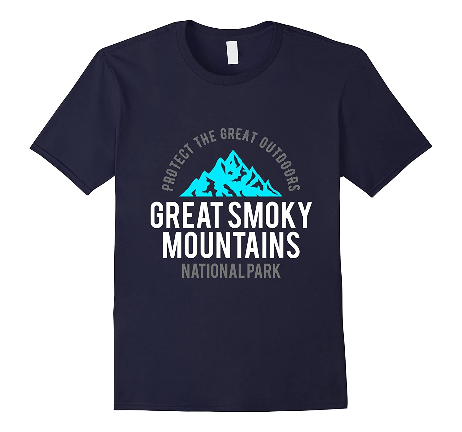 Protect The Great Outdoors Great Smoky Mountains US T-Shirt-FL