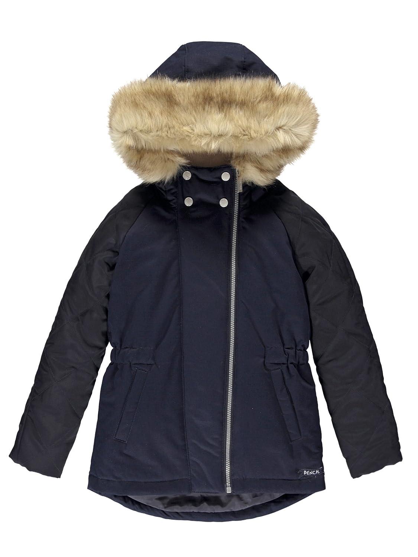 Bleu (Essentially Navy Bl11341)  Bench Mixed Fabric veste Manteau Fille
