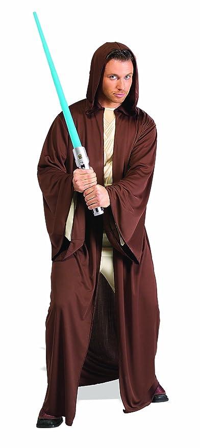 Disfraz Oficial de Jedi de Star Wars para Adultos de la Marca RubieS, con túnica Larga