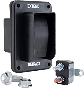 RecPro RV Power Stabilizer Switch | Forward and Reverse Control | for Awnings, Slide-Outs, and Leveling Systems