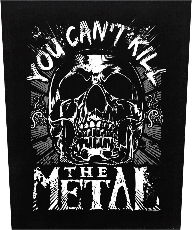 Grindstore Targhetta Vivigade Toppa You Cant Kill The Metal 29,5 x 36 cm