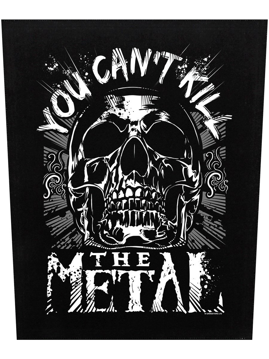 You Can't Kill The Metal Back Patch 29.5 x 36cm