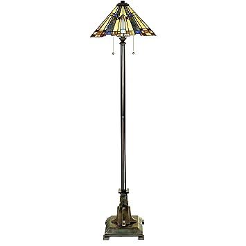 Quoizel Tff16191a5va 2 Light Inglenook Floor Lamp Medium Valiant Bronze