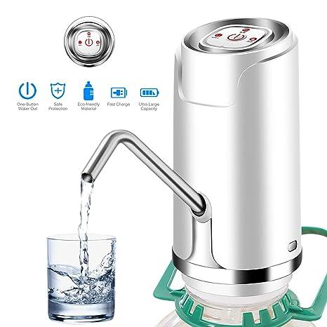 OurLeeme Bomba eléctrica de agua potable, Bombeo rápido Bomba eléctrica de agua potable automática Dispensador