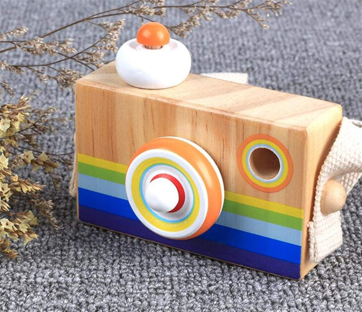 Yingealy Unique Gift Cartoon SLR Camera Design Kaleidoscope Multi Prism Children Fun Toy(Hangable Camera)