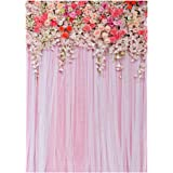 BESTOYRD Photo Studio Background Cloth 3D Flower Floral Photography Backdrop Wall Props 90 x150 cm (812)