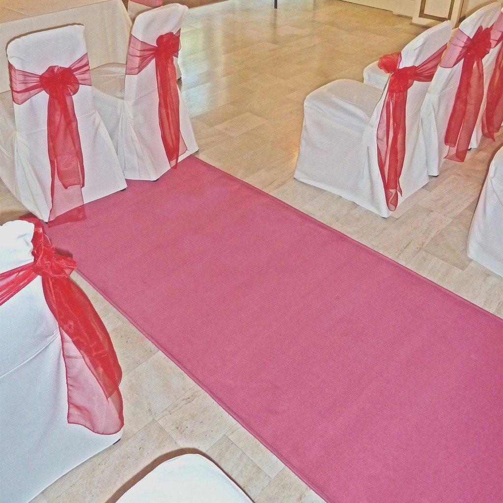 Plain Pink - Wedding Aisle Carpet Runner Carpet Runners UK