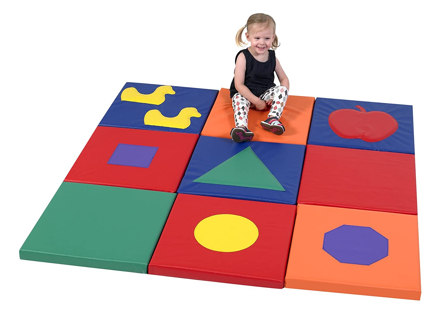 Amazon.com: Childrens Factory CF322 – 390 forma & Play Mat ...