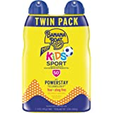 Banana Boat Kids Sport Tear Free, Sting Free, Reef Friendly Sunscreen Spray, Broad Spectrum SPF 50, 6 Ounces - Twin Pack
