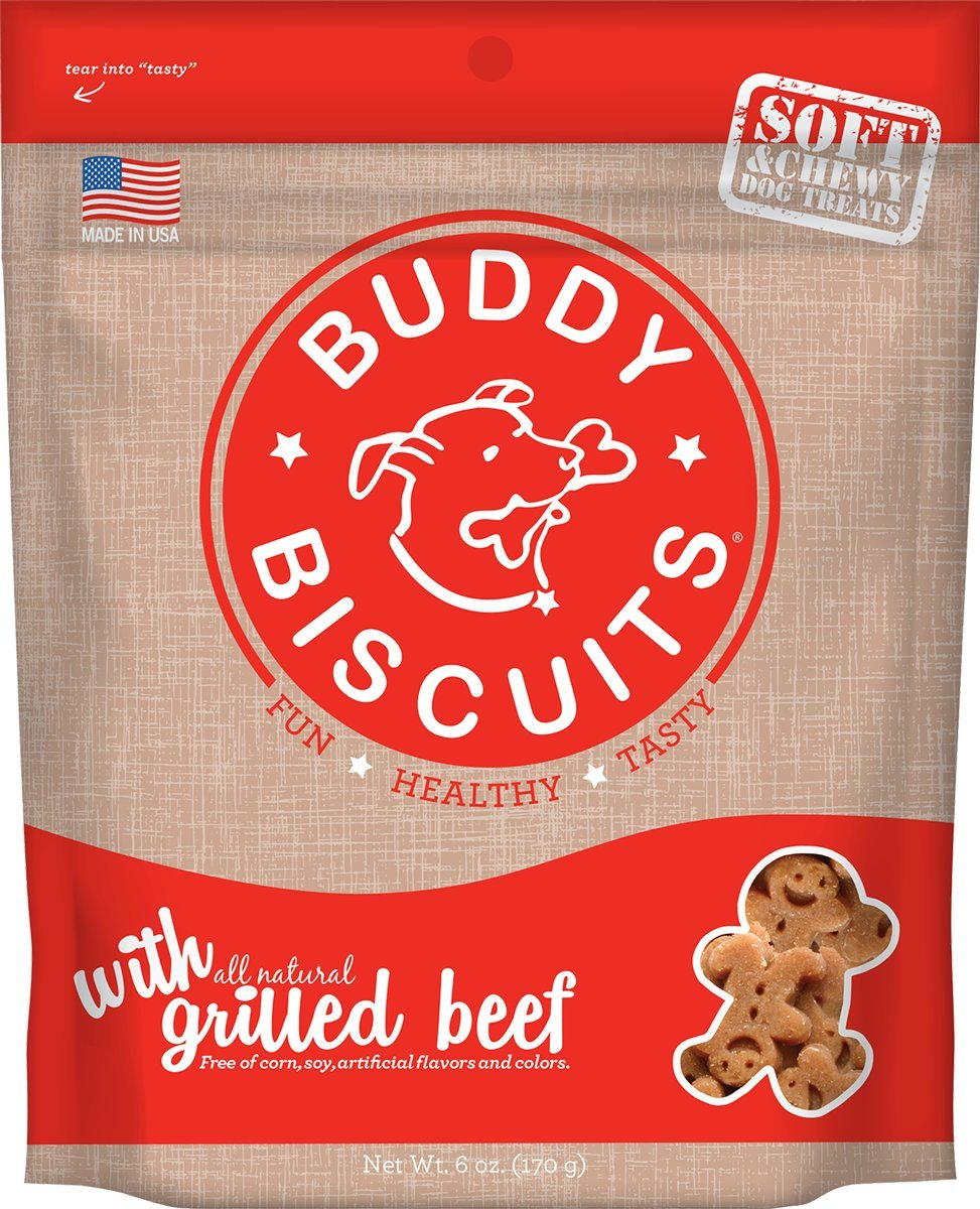 154ceeffcd29 Amazon.com : Cloud Star Soft & Chewy Buddy Biscuits Dog Treats ...