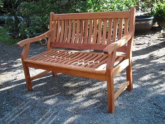 Amazon.de: New Jersey Gartenbank 2-Sitzer aus Eukalyptus