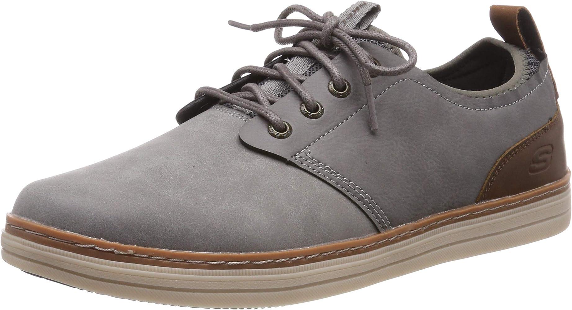 Inhibir Moretón Antídoto  Amazon.com   Skechers Men's Heston-ROGIC Oxford, Grey, 7.5 Medium US   Shoes