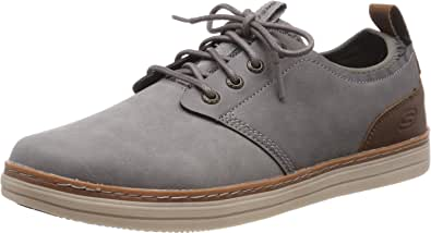 Skechers Heston-Rogic, Zapatos de Cordones Oxford Hombre