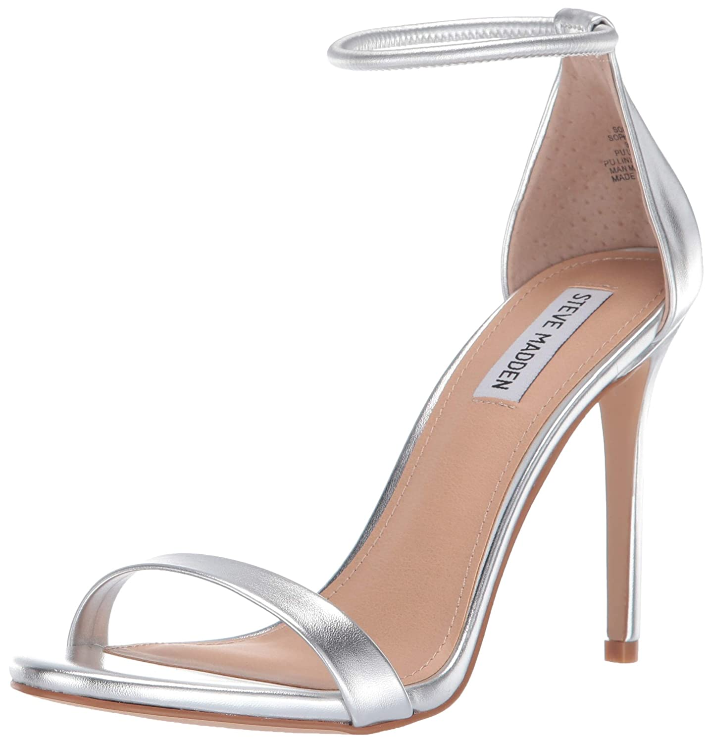 2f388df3b63 Amazon.com  Steve Madden Women s Soph Heeled Sandal  Shoes