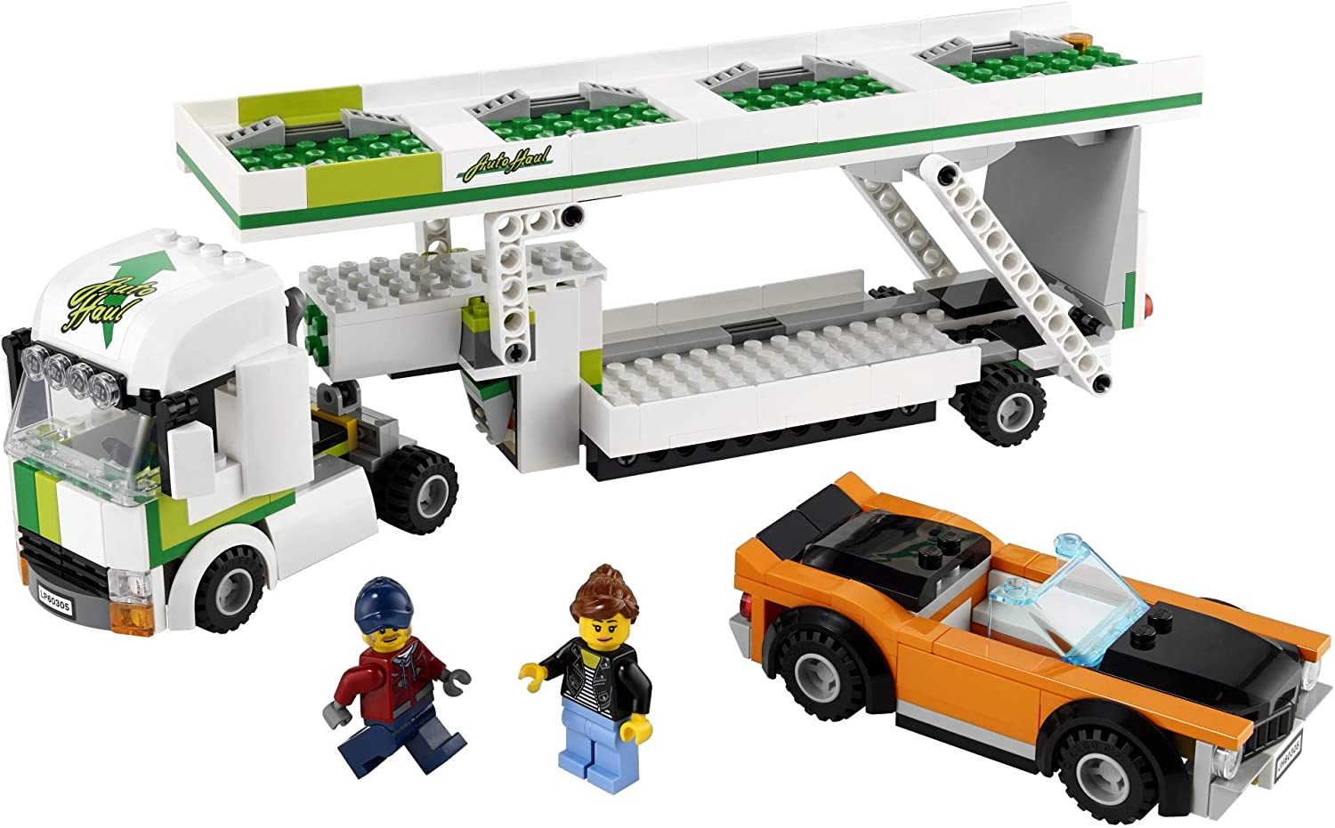 342 Pieces LEGO City Car Transporter 60305 Building Kit; Toy Playset for Kids New 2021
