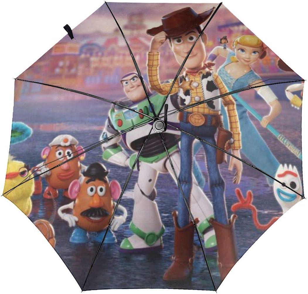 Toy Story Parapluie de voyage /à trois plis pliable portable et coupe-vent