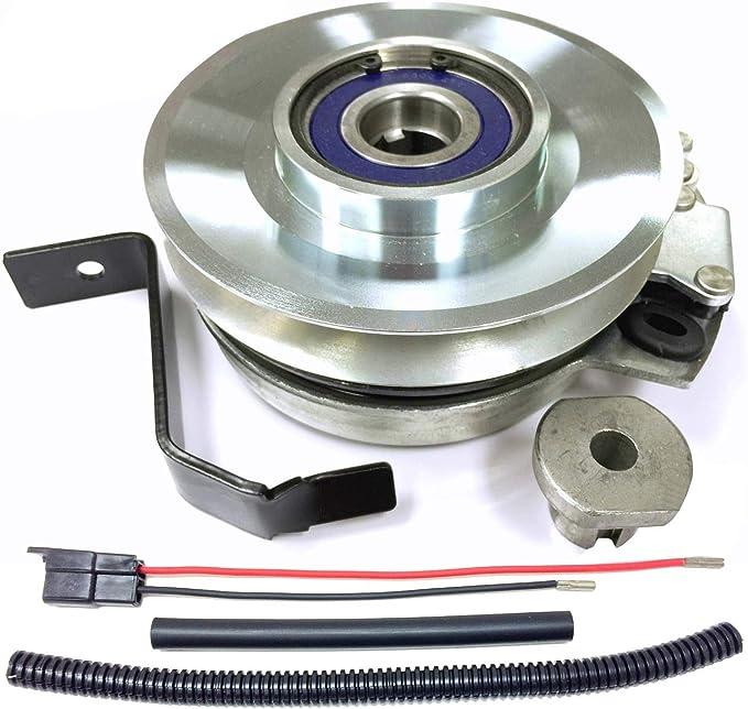 Electric PTO Blade Clutch For John Deere D140 D150 Mower-Upgraded Bearings