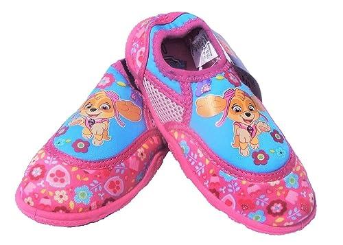 70a4ab1d3030 Amazon.com   Nickelodeon Paw Patrol Skye Water Swim Shoes Aqua, Pink ...