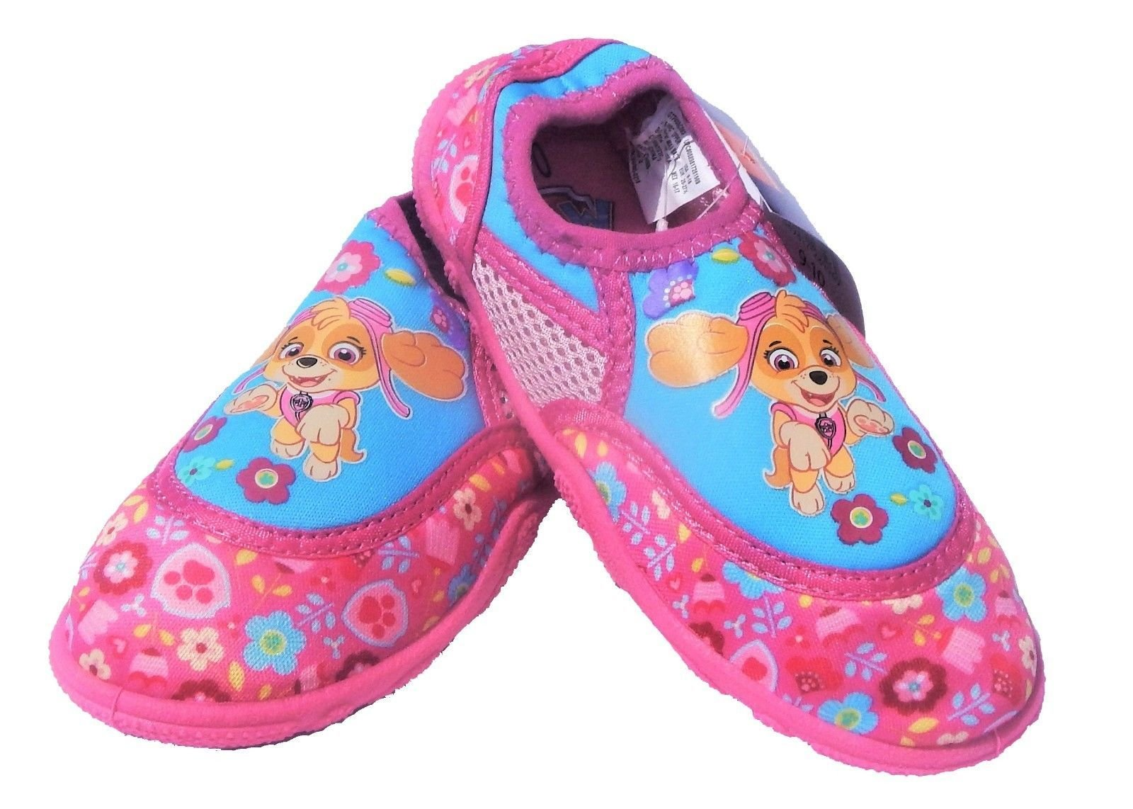 Nickelodeon Paw Patrol Skye Water Swim Shoes (9-10)