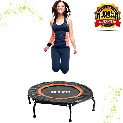 amazon com rebounders mini trampolines for adults fitnessrebounders mini trampolines for adults fitness trampoline, workout trampoline, rebounder trampoline for adults
