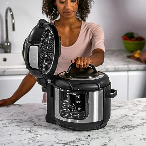 Ninja Foodi [OP300EU] olla a presión y freidora de aire, gris y negro: Amazon.es: Hogar
