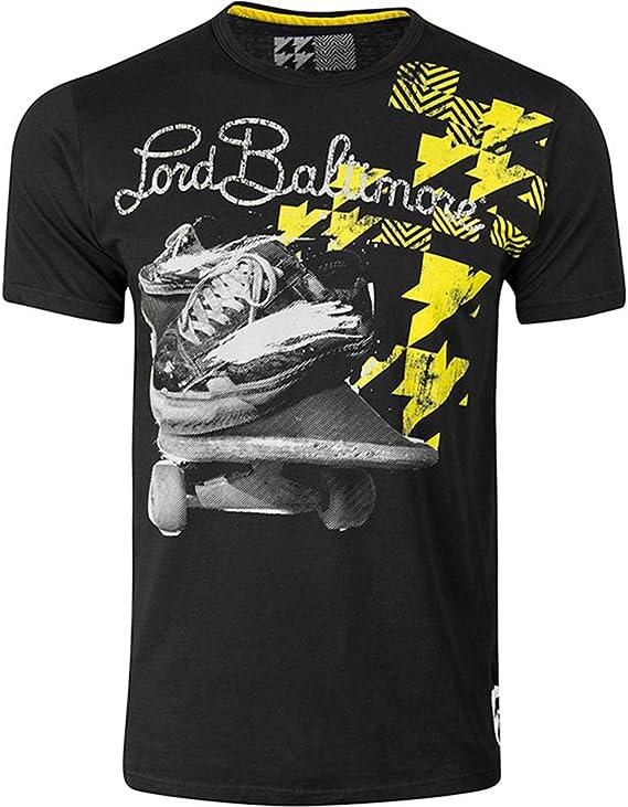 Lord Baltimore - Camiseta - para hombre Skate Deck - Black: Amazon.es: Ropa y accesorios
