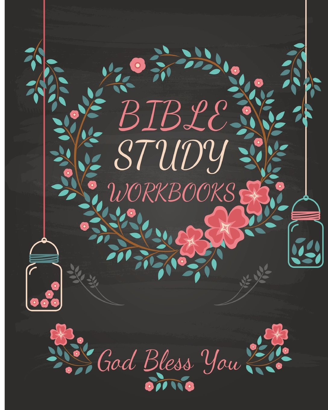 Bible Study Workbooks: Be Still 3 Months of Daily Journaling pages to Write Scripture, Reflection, Prayer & Praise 8x10Inches ebook