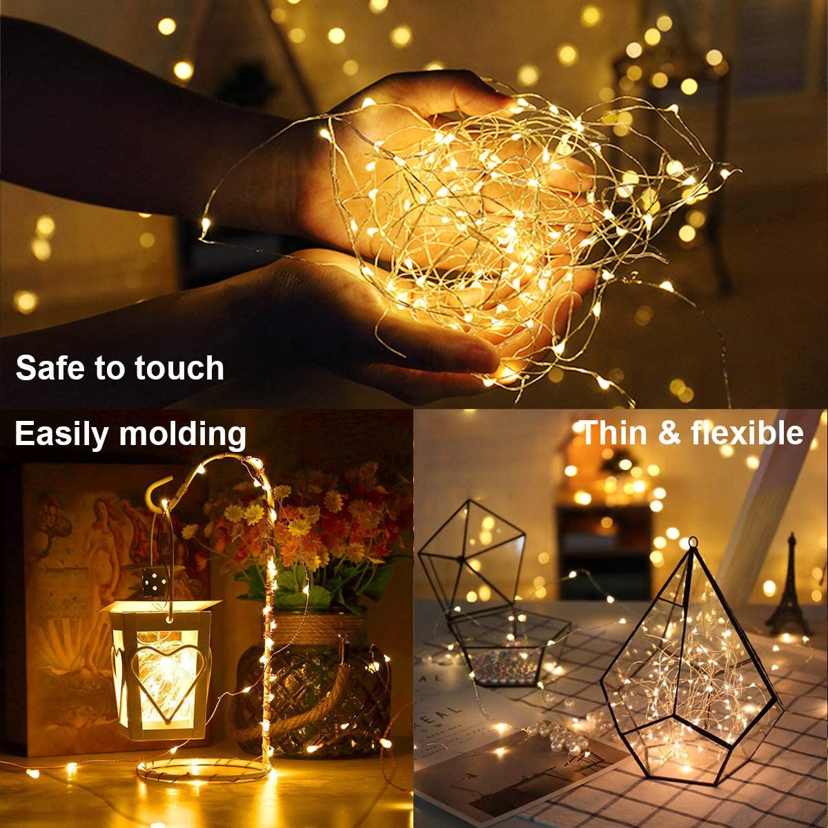 Amazon.com: Innotree - Guirnalda de luces brillantes para ...