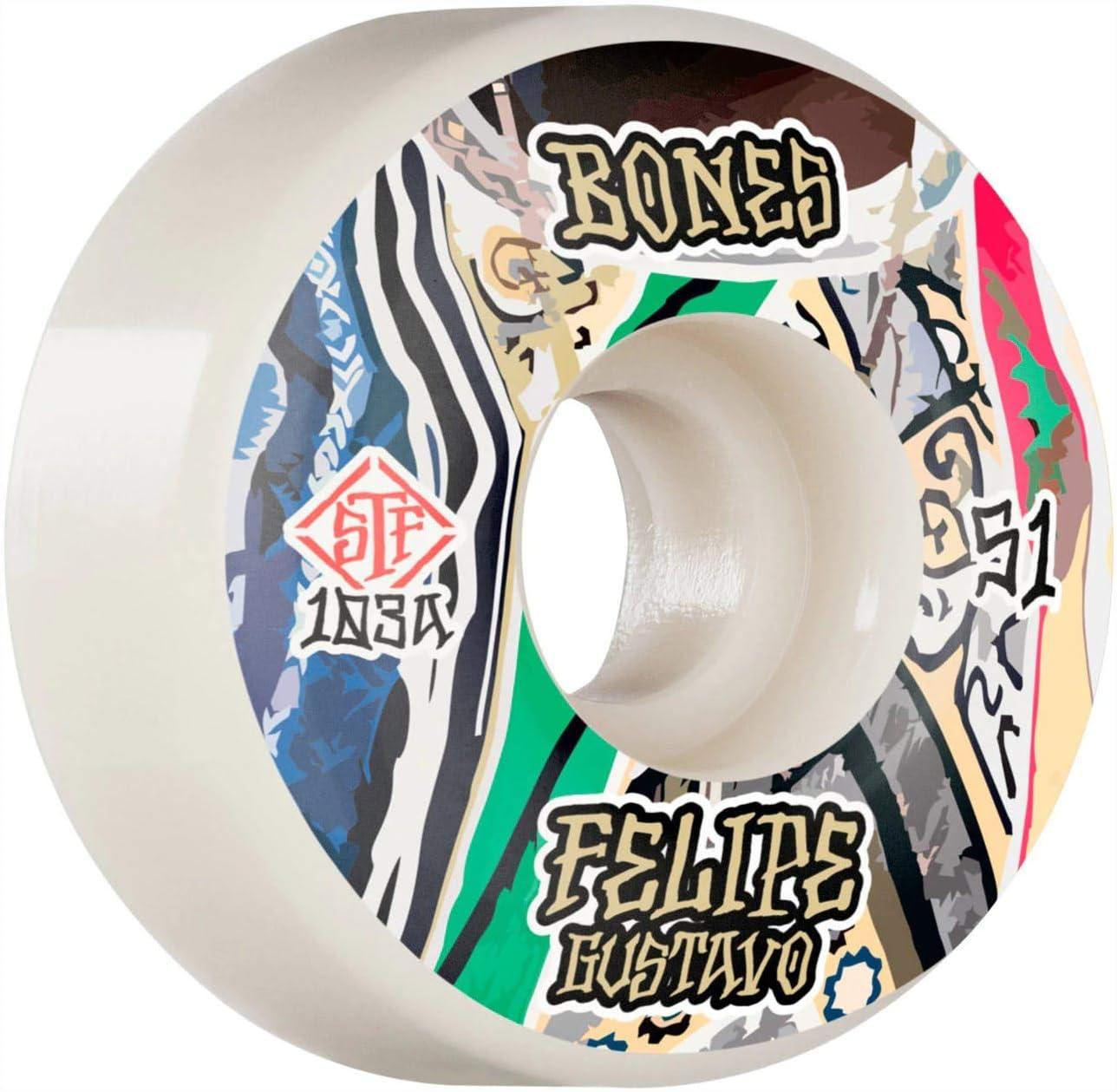 Bones STF Pro Gustavo Bed-Stuy Standard Wheels
