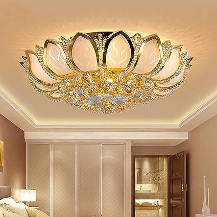 ZHAOJING Luci da camera da letto moderne e romantiche Lampada da ...