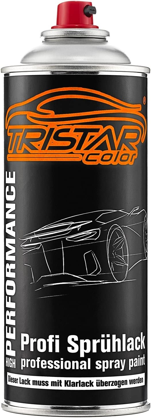 Tristarcolor Autolack Spraydose Für Mercedes Daimler Benz 744 Brillantsilber Metallic Basislack Sprühdose 400ml Auto