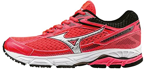 Mizuno Women's Wave Equate (W) Running Shoes, Pink (Diva Pink/Silver