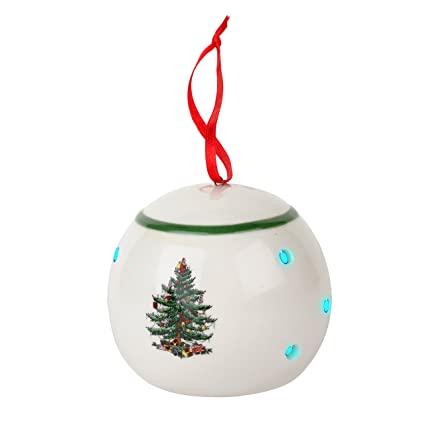 Spode Christmas Tree Ornament, Bauble - Amazon.com: Spode Christmas Tree Ornament, Bauble: Home & Kitchen