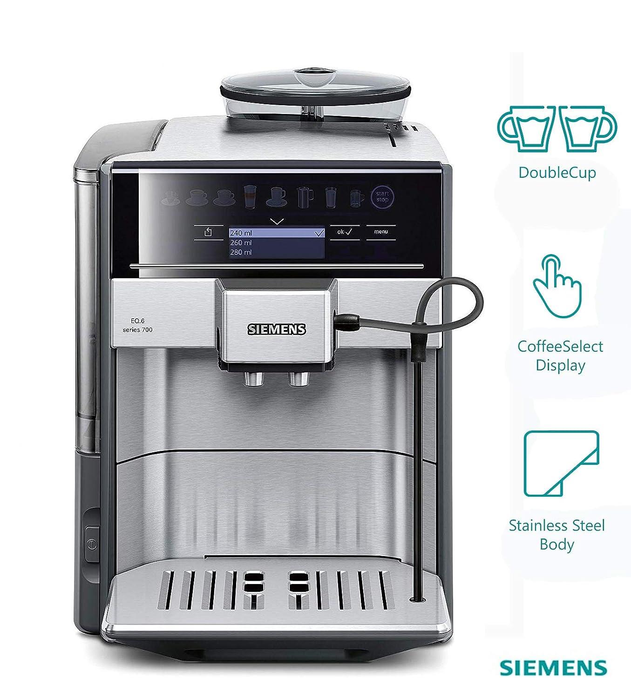 Amazon Com Siemens Eq 6 Plus S500 Super Automatic Espresso Coffee