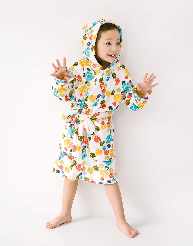 Vaenait baby Ultra Soft Plush Fleece Lightweight Kids Toddler Boys Hooded Bathrobes Sleepwear Robes 1-7 Years ROBE-009